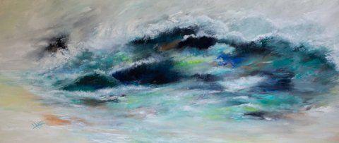 Stormy Seas - Art At The Ridge (Antigua & Barbuda)