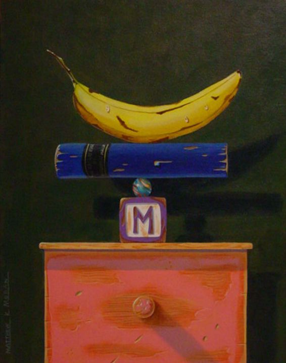 """Summerset"" acrylic - Matthew K Moran"
