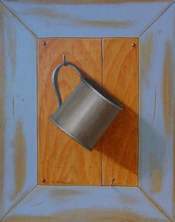 """Haanging Cup"" acrylic - Matthew K Moran"