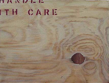 """Handle wuth Care"" Trompe L'oeil - Matthew K Moran"