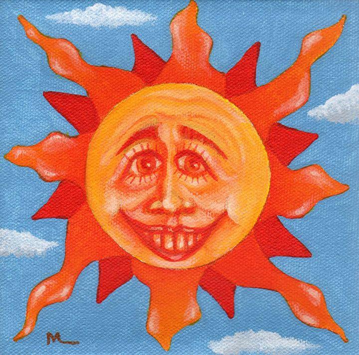 Sun Face #2 - Matthew K Moran