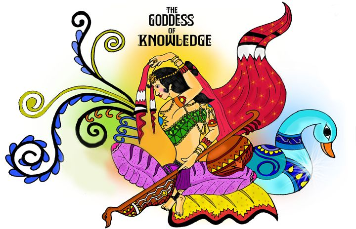 The Goddess of Knowledge - Shov