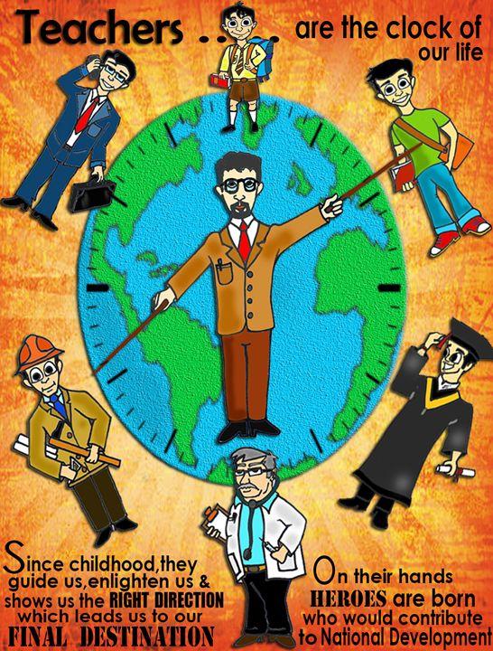 TEACHER'S DAY-- GENUINE GIFT - Shov