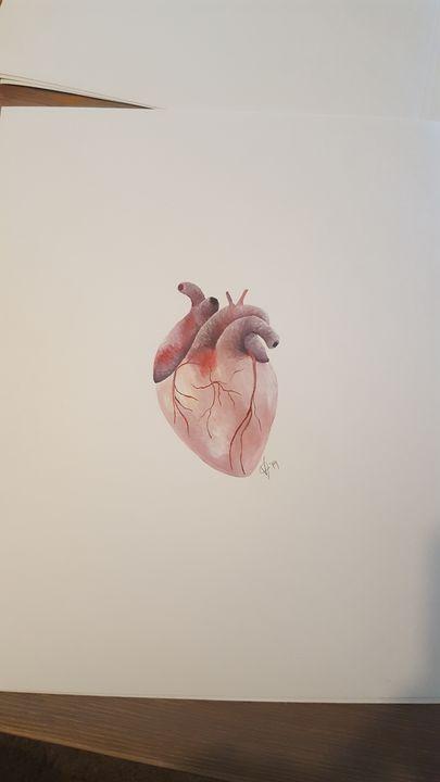 Heart - VJuddArt