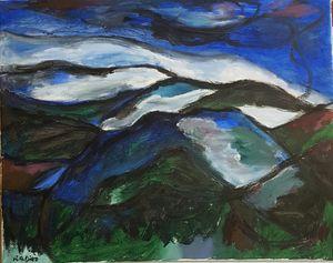 El Monte de La Beatriz de Noche