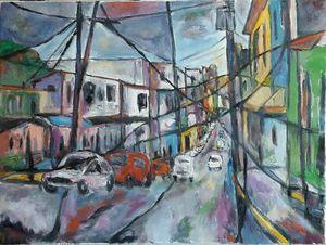 Calle Lasa, Aguas Buenas PR - Mazacote Art