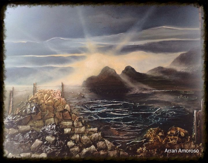 'Cornish cove' - Amorart Gallery