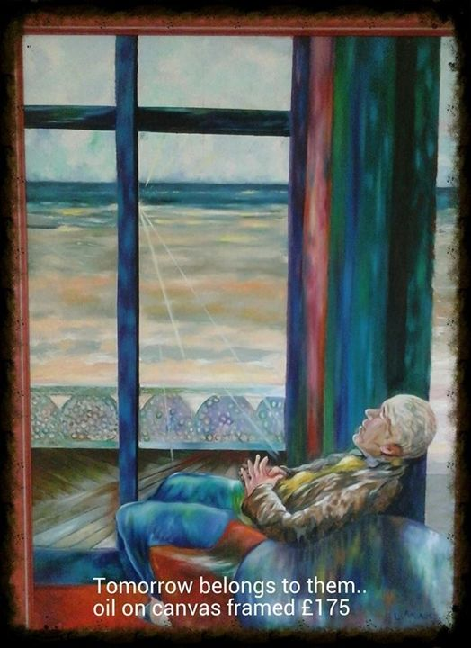 'Tomorrow belongs to them' - Amorart Gallery