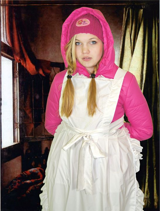 lovely maid neelezulma - maids in plastic clothes