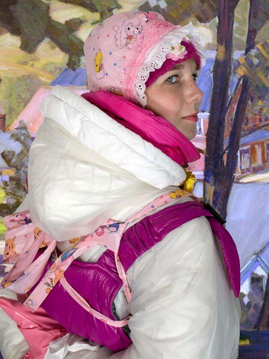 adultbabymaid slirrizulma - maids in plastic clothes