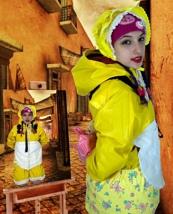 maid spankapunda in Orient - maids in plastic clothes