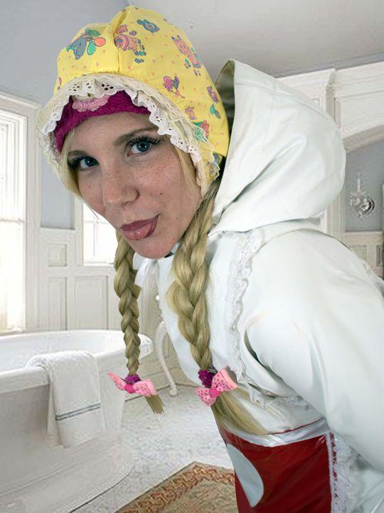 maid imbecila - maids in plastic clothes