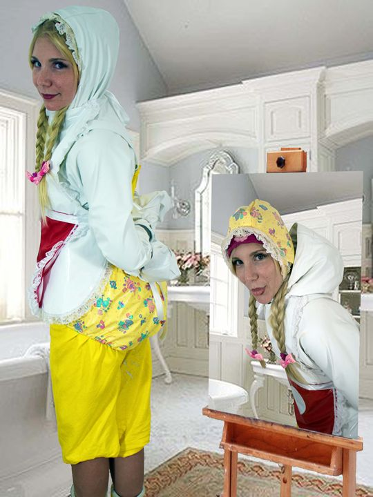 maid imbecilia - maids in plastic clothes