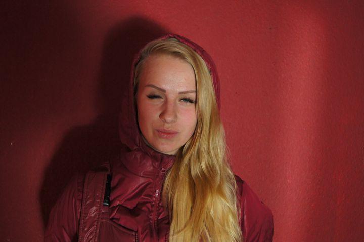 Rotlicht-Mädchen - maids in plastic clothes