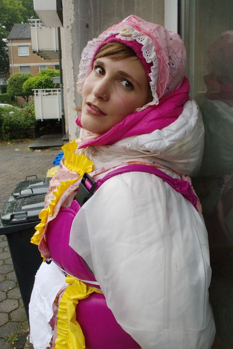 whore karcila working - maids in plastic clothes