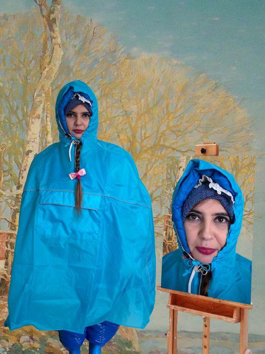 Gummipackung alqarf alkamila - maids in plastic clothes