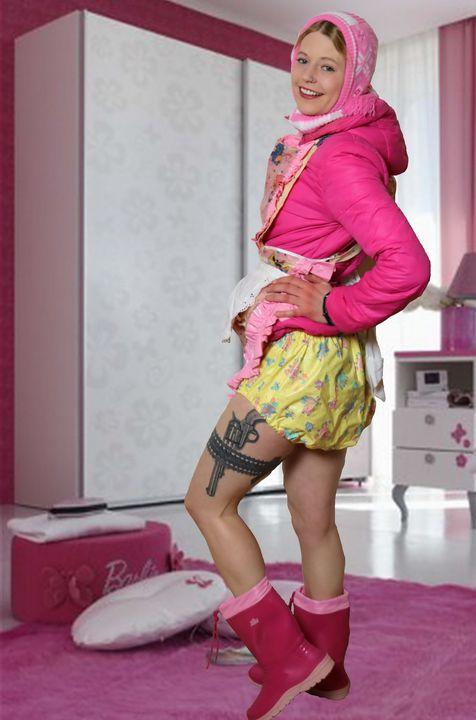 Barbie Flintenweib kantazulma - maids in plastic clothes