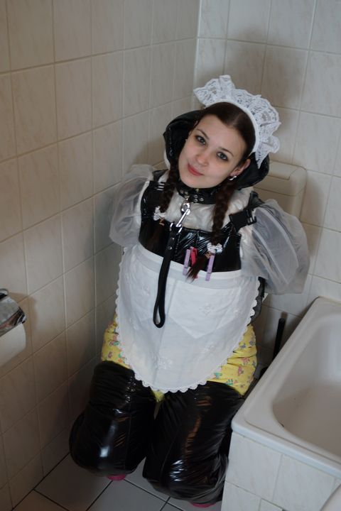 cute diapered smuttyzulma - maids in plastic clothes