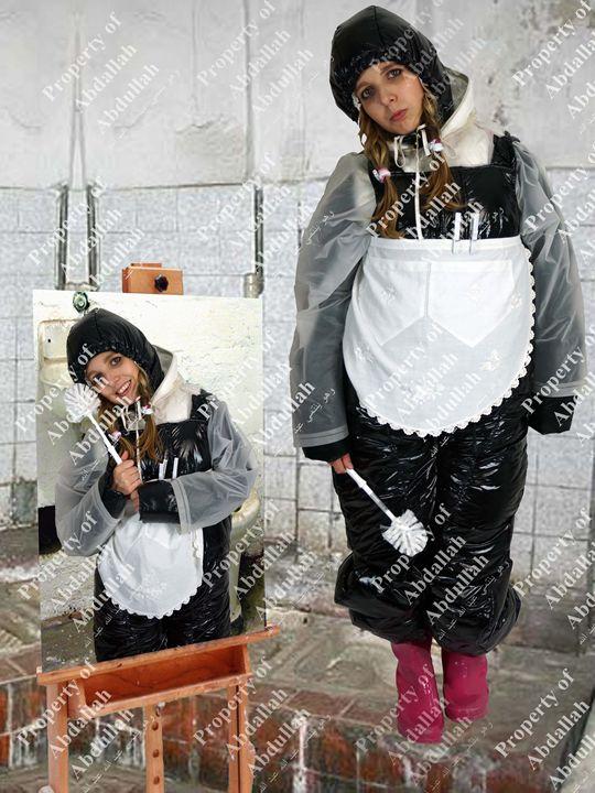 loo maid latrinia-zulma - maids in plastic clothes