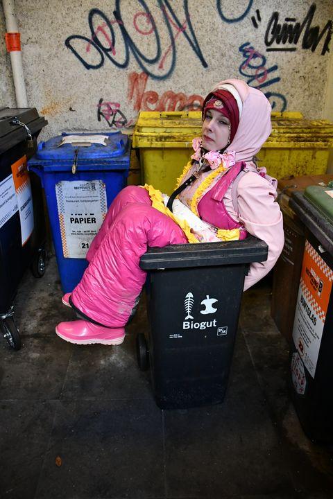the feeble-minded boka yiyena fahişa - maids in plastic clothes