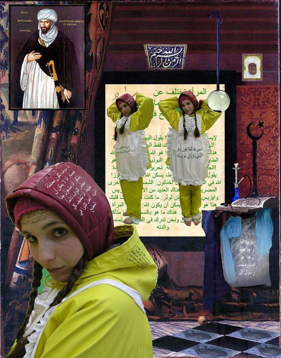 Njemačka kurva za muslimane - maids in plastic clothes