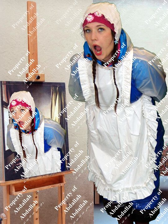 open mouth wide! - maids in plastic clothes