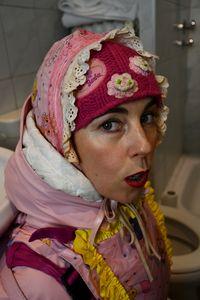 德国橡胶妓女为穆斯林