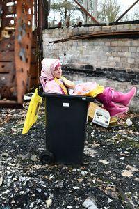 ゴミ箱のゴムフッカー