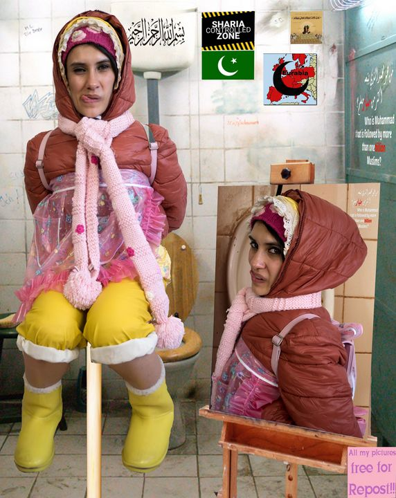 عاهرة مخوزقخادمة خادمة، خادمة خادمة، - maids in plastic clothes