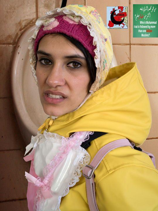 Шлюха в резиновой одежде - maids in plastic clothes