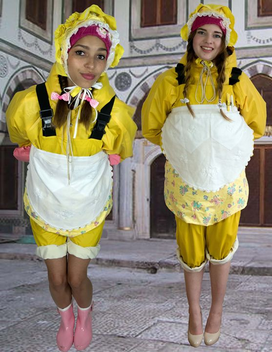 maids in Orient - maids in plastic clothes
