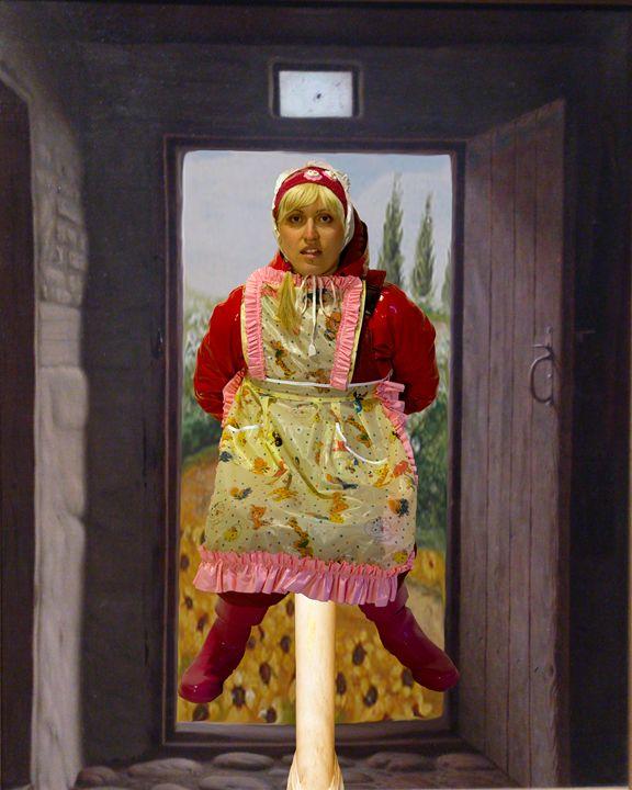 scullerymaid fregona-zulma 2 - maids in plastic clothes