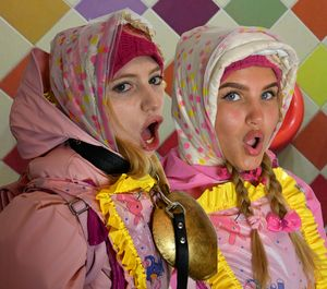 What cute german dhimmi maids!