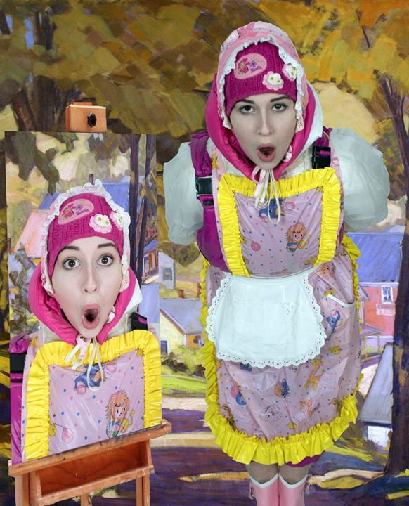 adultbabymaid lientjezulma - maids in plastic clothes