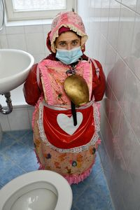訓練されたトイレの女の子