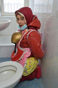 ein hübsches Dhimmi Dienstmädchen