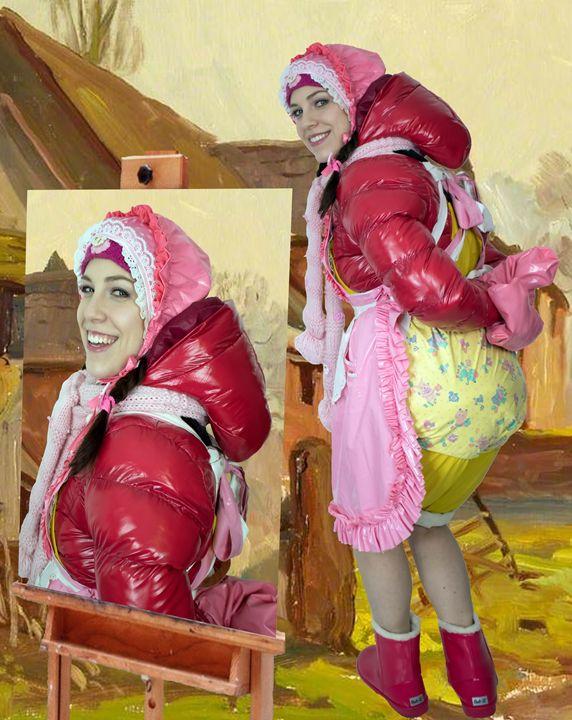 adultbabymaid fahischezulma - maids in plastic clothes