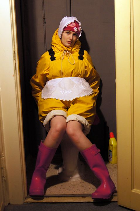 maid candy-zulma 2 - maids in plastic clothes