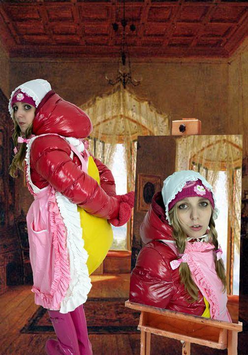 maid ladriniazulma - maids in plastic clothes