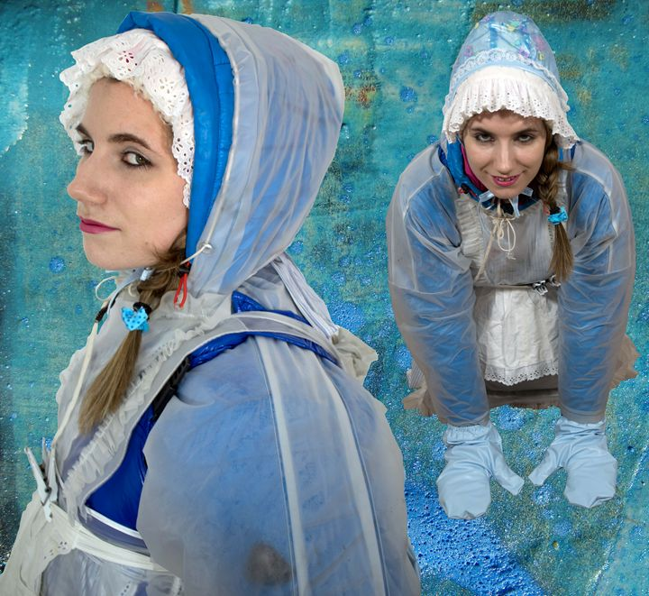 maid khinzirazulma - maids in plastic clothes
