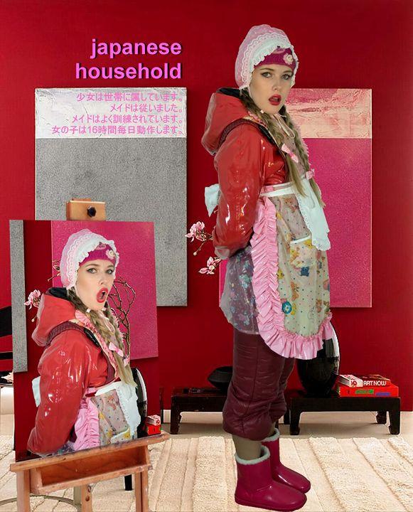 maid quamamabayda - maids in plastic clothes