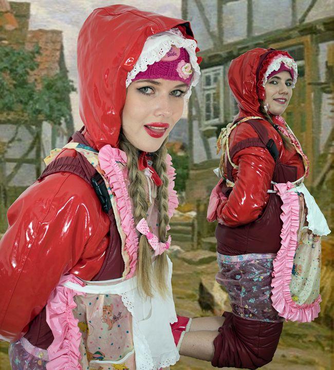 maid quamamabayda and khinzirazulma - maids in plastic clothes