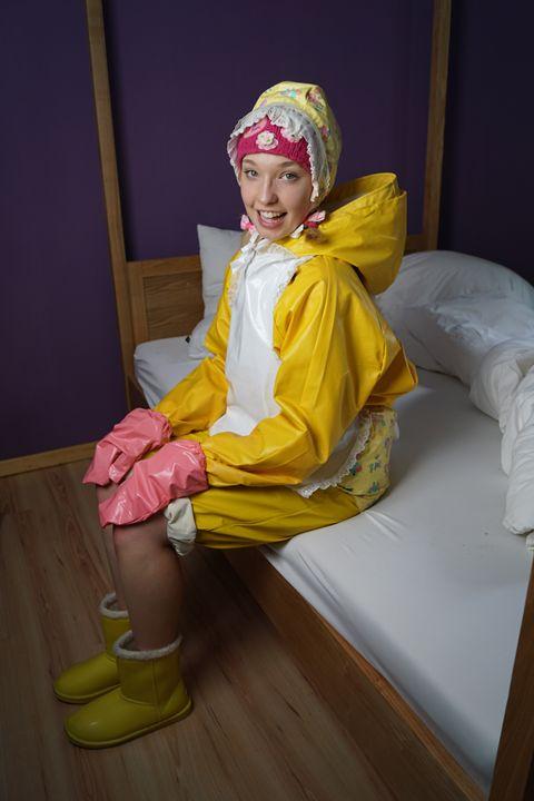happy maid derma padrusnika - maids in plastic clothes