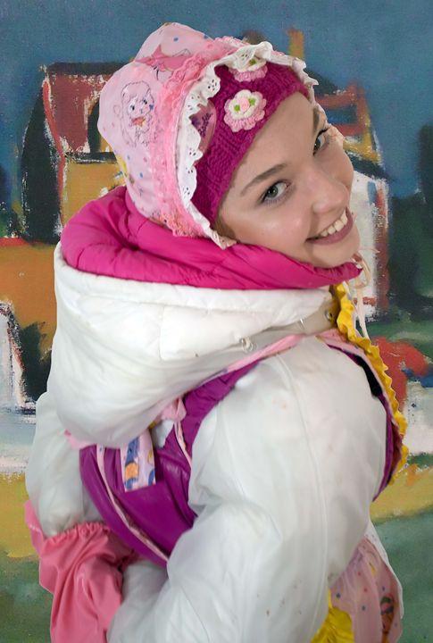 cute maid dermapadrusnika - maids in plastic clothes
