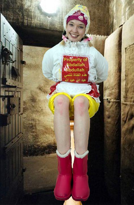 happy maid dermapadrusnika in Orient - maids in plastic clothes
