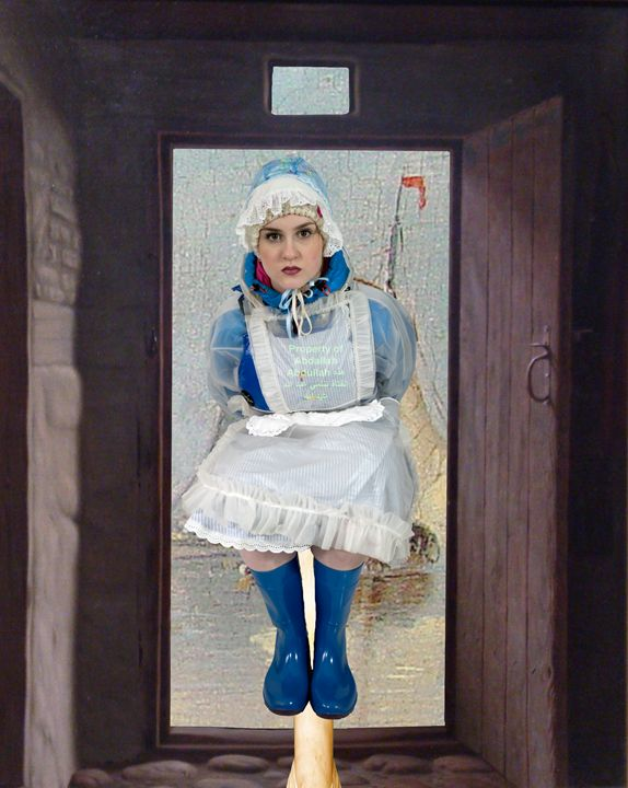 maid servilia - maids in plastic clothes