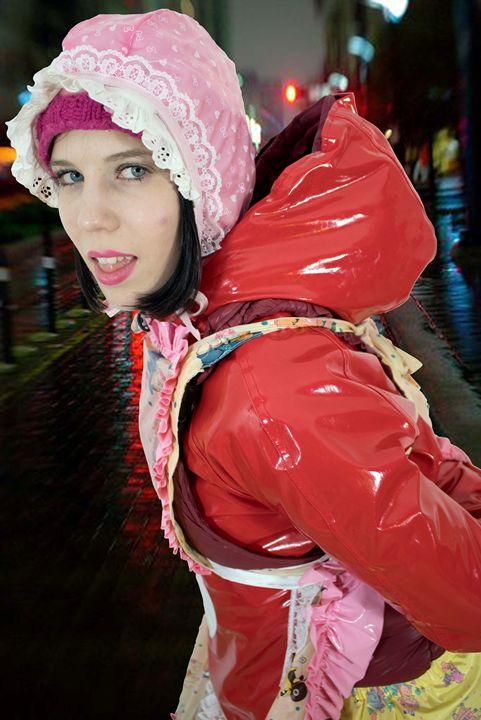 streetmaid gorlasperma - maids in plastic clothes