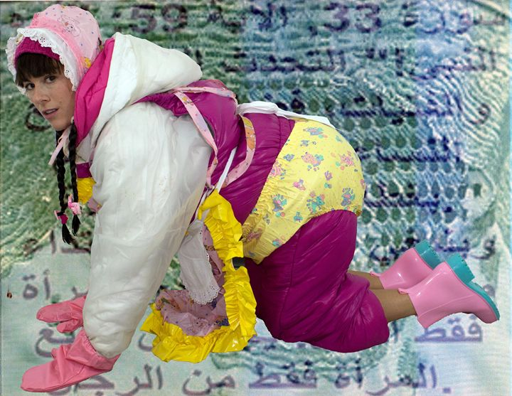 maid lickasgita - maids in plastic clothes