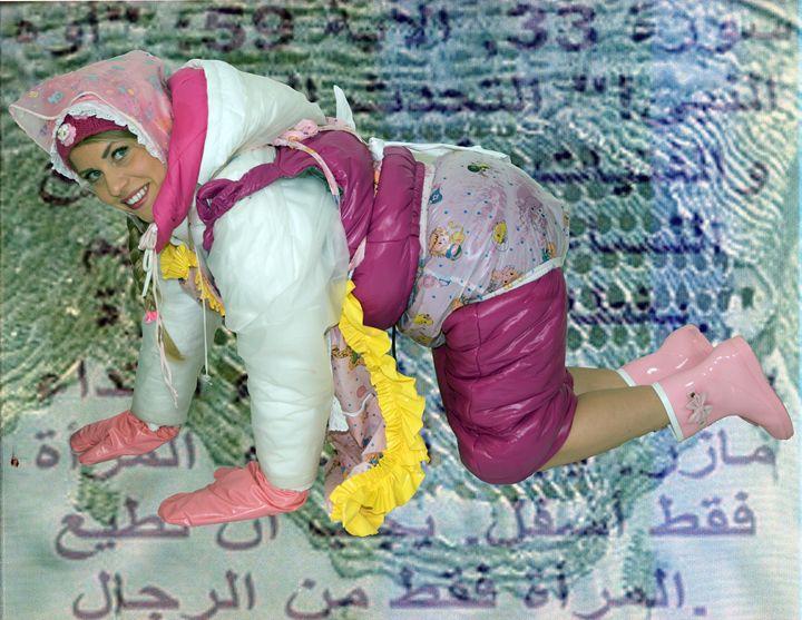 maid schlepatjasadnizs in Orient - maids in plastic clothes