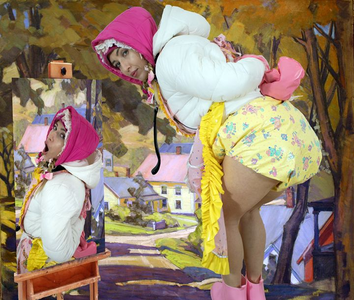 maid minjeta - maids in plastic clothes